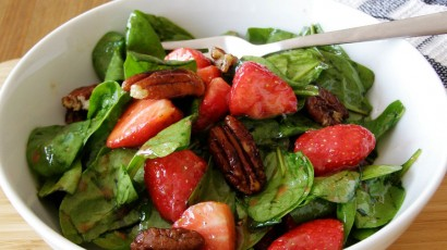 Strawberry Spinach